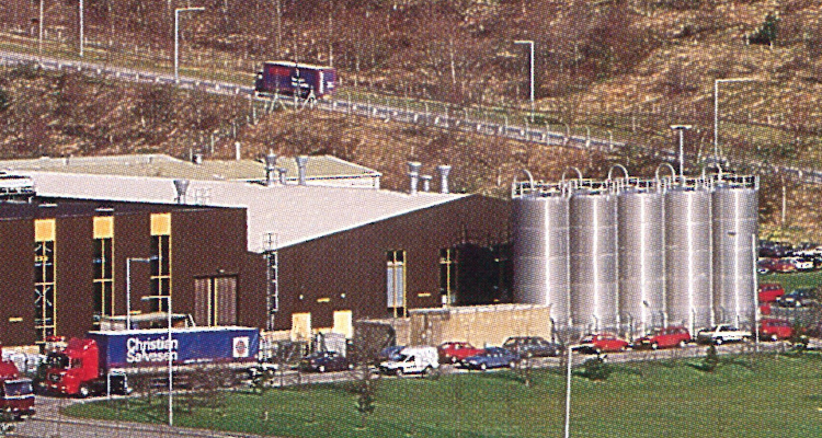 1988 until 1998 production subsidiary in Cwmfelinfach, Wales